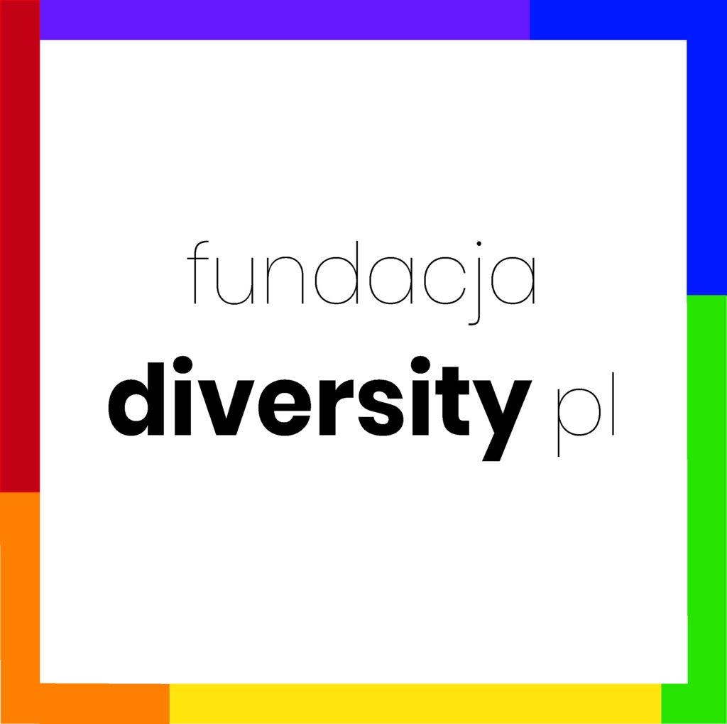 Logo Fundacja Diversity Polska
